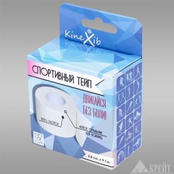 Спортивный тейп Kinexib (3.8см*9.1м)