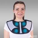 """А-350 Бандаж для воротниковой зоны и грудного отдела с аппликаторами биомагнитными медицинскими - """"Крейт"""""""