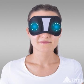"""А-100 Бандаж на глаза с аппликаторами биомагнитными медицинскими - """"Крейт"""""""