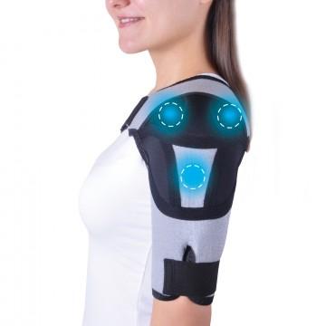 А-600 Бандаж для плечевого сустава  с аппликаторами  биомагнитными  медицинскими  – «Крейт»