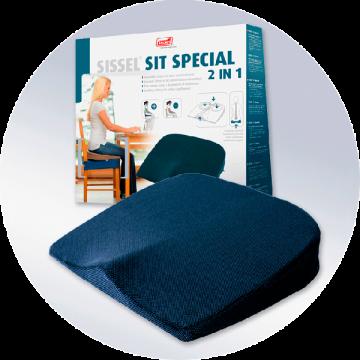 Ортопедическая подушка Sissel Sit для сиденья 3712